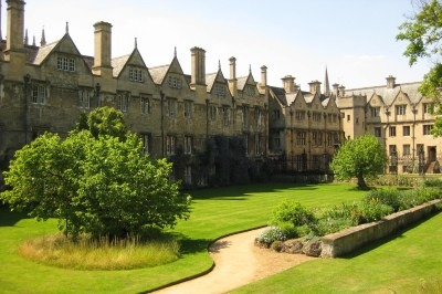 Experts gathered at Merton College, Oxford to discuss the ecological crisis. Credit: Matt Brown CCA 2.0