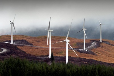 The UK government appears to have cut its onshore wind ambition. This is likely to affect growth in England and Wales rather than Scotland (photo courtesy of Scottish Power)