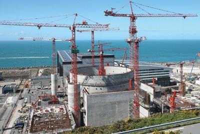 EDF's Flamanville plant, Normandy. Credit: EDF/ Morin Alexis
