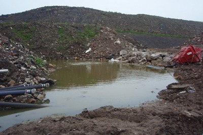 Leachate levels at Yorwaste's Skibeden Quarry landfill in Yorkshire were higher than their one-metre limit