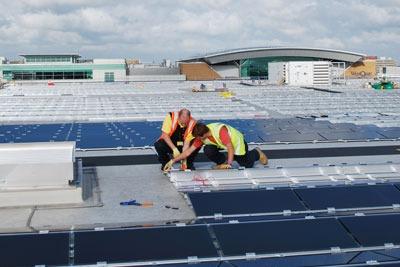 IKEA's Southampton store has solar panels installed. Credit: IKEA