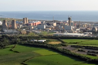 Sellafield nuclear power plant (picture courtesy of www.visitcumbria.com)