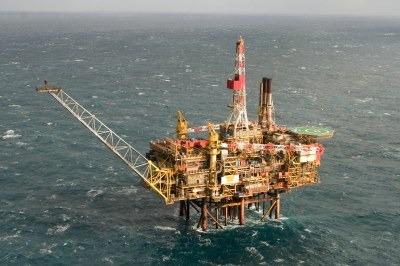 Shell's Gannet Alpha oil platform (credit: Shell)