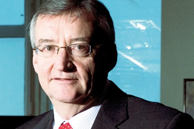 Environment Agency chief Paul Leinster