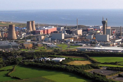 Sellafield's MOX nuclear plant has been controversial since construction began in 1994 (picture: www.visitcumbria.com)