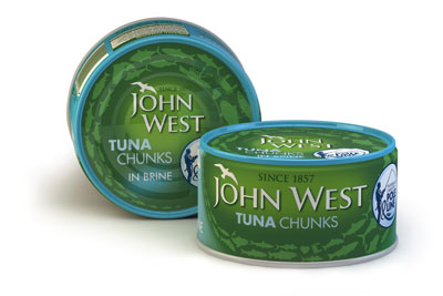 John West has launched a range of tuna sourced from pole and line suppliers