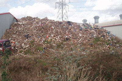 Able Skips: fined for 'consistent' violations (picture: Environment Agency Wales)