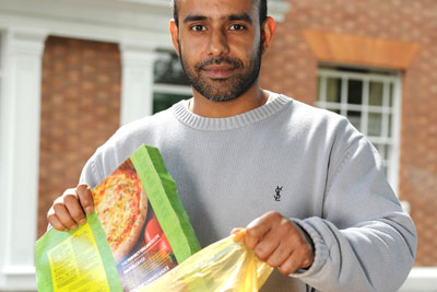 Leicester residents are being given new recycling bags to replace kerbside-sorted boxes (photo: Biffa)