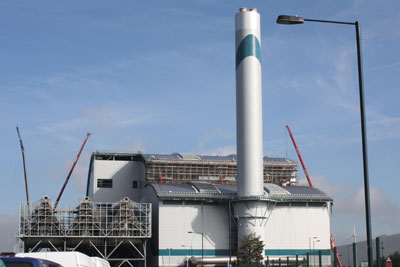 Cory's Riverside Resouce Recovery plant in Bexley, London