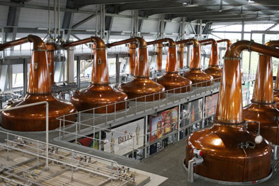 Roseisle distillery in Scotland, which is already part powered by biomass. Diageo hopes to power other distilleries using the by-products of whisky production (photo: Diageo)