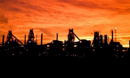 Tata's Scunthorpe steelworks (photo: Tata)