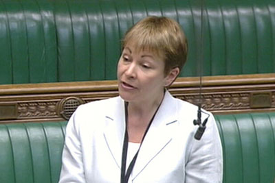 Caroline Lucas may not have become the UK's first Green MP if the proposed boundaries had been in place at the last election (photo: RF)