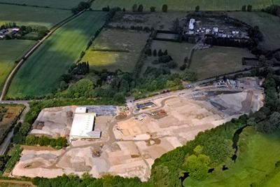 Remediation of Bayer CropScience's former pesticide site near Haxton, Cambridgeshire, will be finished in October (photo: Harrow Estates)