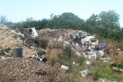 Trago Mills has been fined for illegally dumping waste (photo: Environment Agency)