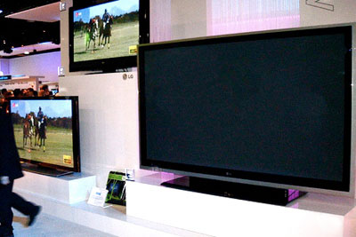 The Energy Saving Trust blames the increasing popularity of energy-hungry products, such as wide-screen plasma TVs, for driving up home energy consumption (photo: Lakshmix via Wikimedia Commons)