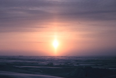 Arctic sunrise (picture: National Oceanic and Atmospheric Administration)