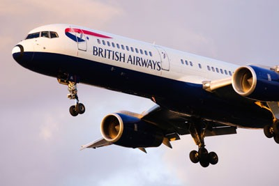 British Airways, the biggest name in UK aviation, says the pilot emissions trading scheme has left it well placed compared with rivals (photo: Antony Nettle/Alamy)