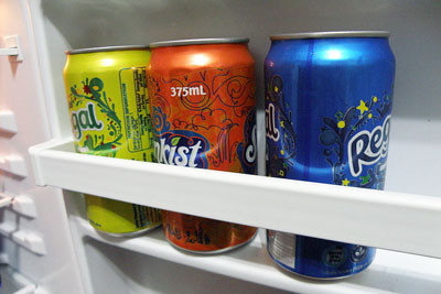 BPA is an ingredient of the epoxy resin in food and drink can linings (photo: Matthew Paul Argall)