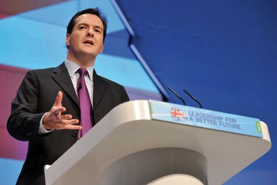 George Osborne: putting the UK 'out of business' will not save the planet (photo: Parsons Media)