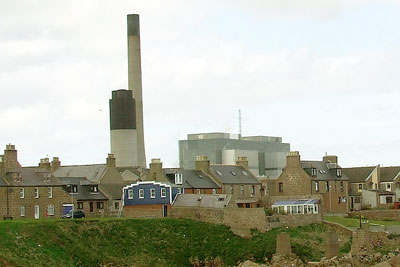 Scottish and Southern Energy's Peterhead power station is the only gas plant for which a CCS retrofit is currently being proposed (photo: Jennifer Witts GFDL)