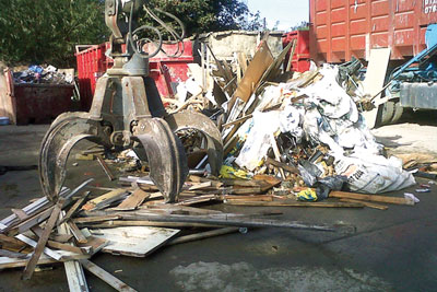 Almost £900,000 was seized from a Berkshire man who ran an illegal waste site in Slough(picture: Environment Agency)