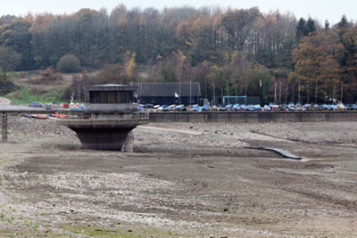 British water firms are seeking permission to take more from rivers to fill emptying reservoirs such as Ardingly in Sussex (photo: James Boardman/Alamy)