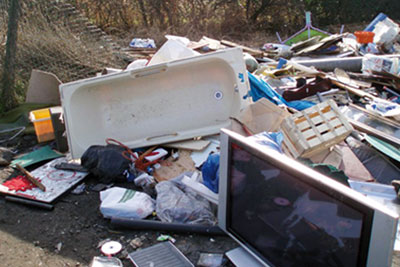 Wayne Richards dumped waste around Bristol (picture: Envrionment Agency)