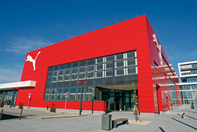 Puma is planning to make its German headquarters carbon netural (picture: Puma)
