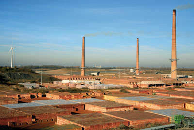 Hanson's Whittlesey brickworks (picture: Dave Porter/Alamy)