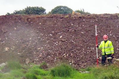 Waste dumped near Caernarfon (photo: Environment Agency)