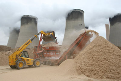 Drax's biomass power plant (picture: Drax)
