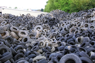 The siblings continued to store tyres despite being told they had no valid permit (photo: Environment Agency)