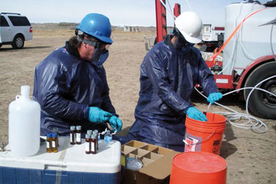 New research has linked groundwater pollution to shale gas fracking (photo: US Environmental Protection Agency)