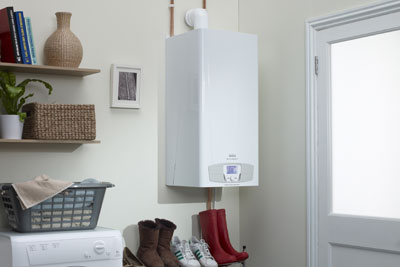 The institute says the energy efficiency of homes must radically improve, for example by installing micro-CHP systems (photo: Baxi)