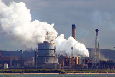 Redcar steelworks: heavy industry is being urged to become more resource efficient (photo: Ralph Gant CC-BY-SA-2.0)