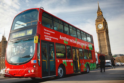 More hybrid buses are set to join the London fleet in this month (photograph: Volvo)