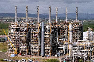 ExxonMobil's Fife ethylene plant (photograph: Walter Baxter)