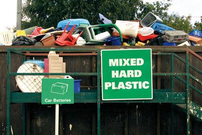 The UK produces 2.5 million tonnes of plastic waste every year (photo: Paul Doyle/Alamy)