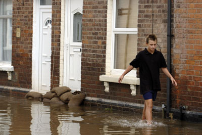 The Pitt report on the floods of 2007 supports national as well as local review (photo: Paul Glendell/Alamy)