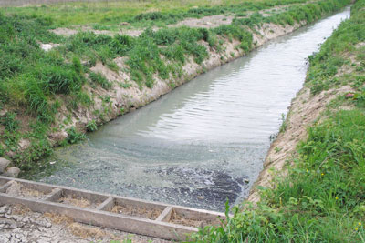 Discharging dirty effluent into a stream has cost Bakkavor Foods a five-figure sum (photo: Environment Agency)
