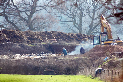 William Turner was sentenced for illegally burning waste (photo: Environment Agency)
