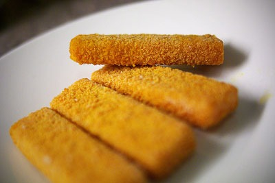 MSC certification of these will boost the total weight of sustainable fish sold in the UK by Birds Eye sells 185 million fish fingers in Britain each year (photo: Timo Kirkkala CC BY-NC-SA 2.0)