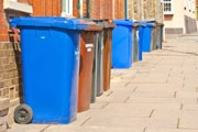 Some 26,000 of Stoke-on-Trent's terraced houses and flats already have weekly bin collections (photo: Dreamstime)