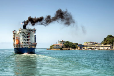 The CCC says existing UK carbon budgets should be increased to allow for shipping and aviation emissions (photo: International Maritime Organization)