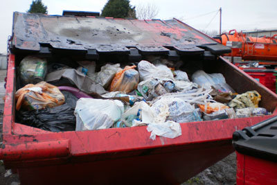 Biffa Waste Services has been fined for storing waste illegally at a site in Essex (photo: Environment Agency)