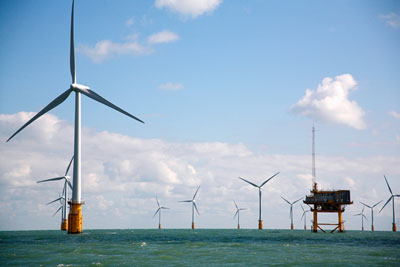 30 gigawatts of wind capacity are likely to be operational by 2020, mostly offshore (photo: Vattenfall)