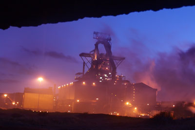 The steelworks in Redcar, Cleveland, may have CCS fitted to them in the future (photo: Red Rose Exile CC BY-SA 2.0)