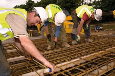 Construction providers expect to perform better this year following the introduction of the National Planning Policy Framework (photo: Paul Doyle/Alamy)