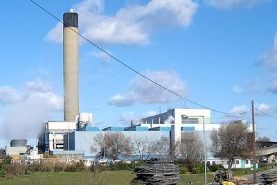 Treatment plants such as waste incinerators help divert waste from landfill (photo: Fin Fahey CC BY-SA 2.0)