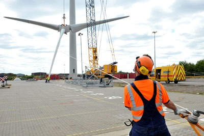 Growth in the wind power sector is expected to continue, says Kmatrix (photo: Ecotricity)